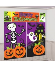 DECO PARED HAPPY HALLOWEEN INFANTIL