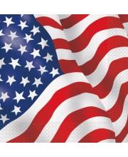 SERVILETAS USA 16 UNIDADES