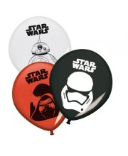 GLOBOS STAR WARS 8 UNIDADES EPISODIO VII