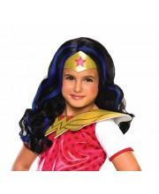 PELUCA WONDER WOMAN INFANTIL DC SUPER HERO GIRLS