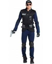 DISFRAZ DE POLICIA SWAT PARA HOMBRE