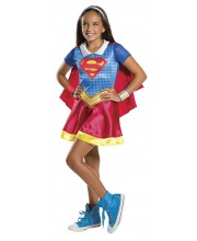 DISFRAZ DE SUPERGIRL CLASSIC DC SUPER HERO GIRLS