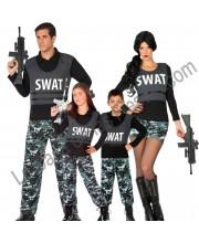 DISFRACES EN GRUPO POLICIA SWAT