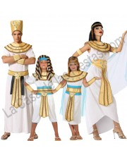 DISFRACES PARA GRUPO EGIPCIOS BLANCOS
