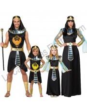 DISFRACES EN GRUPO EGIPCIOS NEGROS