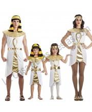 DISFRACES EN GRUPO EGIPCIOS LLAVE DORADA