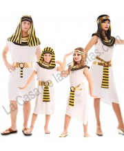 DISFRACES EN GRUPO EGIPCIOS CINTURON RAYAS