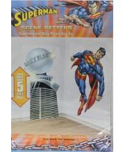 DECORACIÓN PARED SUPERMAN PLANETA