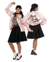 CAZADORA GREASE PINK LADIES
