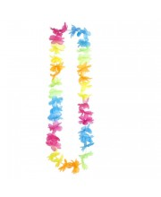 COLLAR HAWAIANO NEON MULTICOLOR