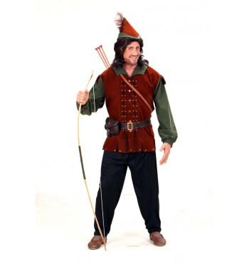 Disfraz de Robin Hood Adulto Hombre