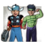 Disfraces de superhéroes para bebés
