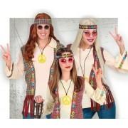 Disfraces de años 60 Hippies para Comparsas
