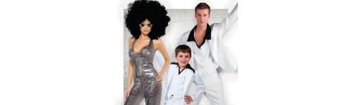 Disfraces de Años 70 Disco para Comparsas