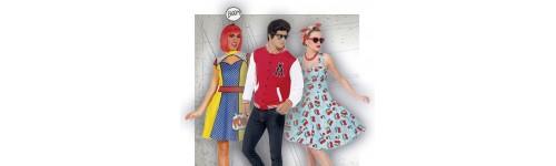 Disfraces de Años 50 y Disfraces de Grease