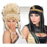 Pelucas Egipcios, Romanos, Griegos