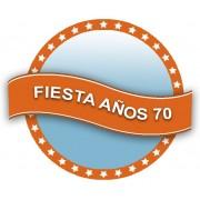 Decoración Fiesta Disco Años 70