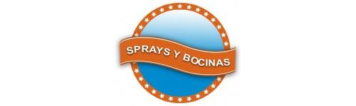 Sprays Y Bocinas