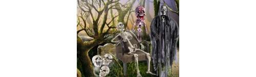 Decoración Esqueletos Y Calaveras