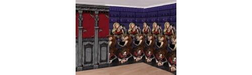 Decoración Mansión Gótica